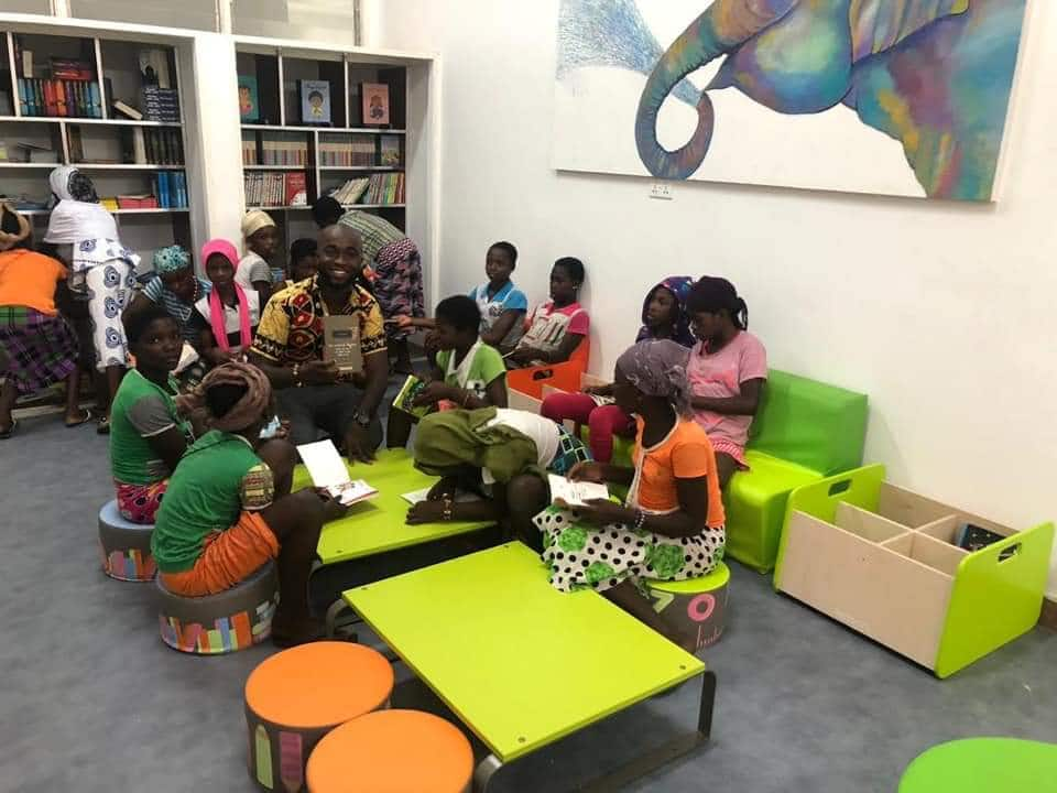 Meet Ghanaian CEO Inusah Mohammed who is changing the reading culture in Nima
