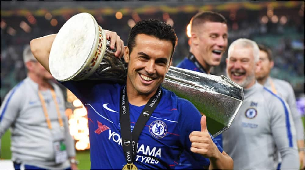 Pedro Rodriguez: Spanish star says goodbye to Chelsea fans ahead of Roma transfer