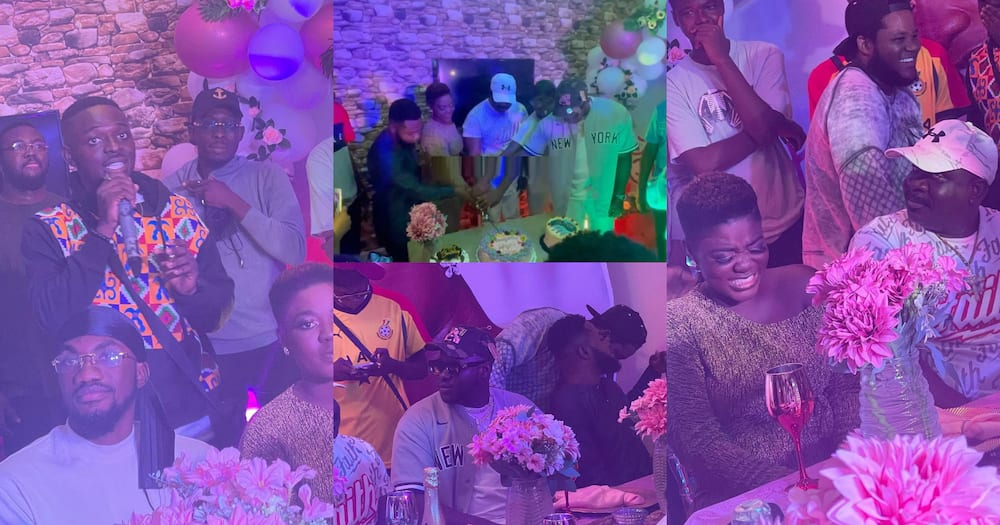 Asantewaa: Medikal, Mr Drew, Others Attend 27th Birthday Party Of Koo Fori's Daughter (Videos)