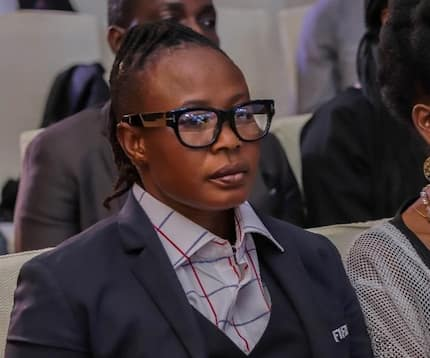 Adjoa Bayor who broke her virginity at age 32 says female footballers shouldn't be tag as lesbians