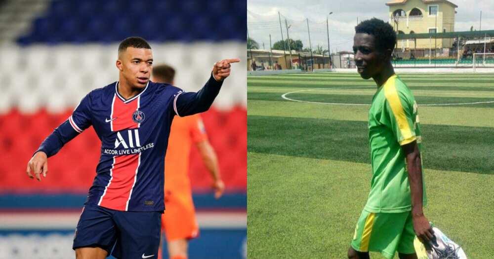 I want to be like Mbappe and even better - Golden Kicks wondergoal scorer Mizak Asante