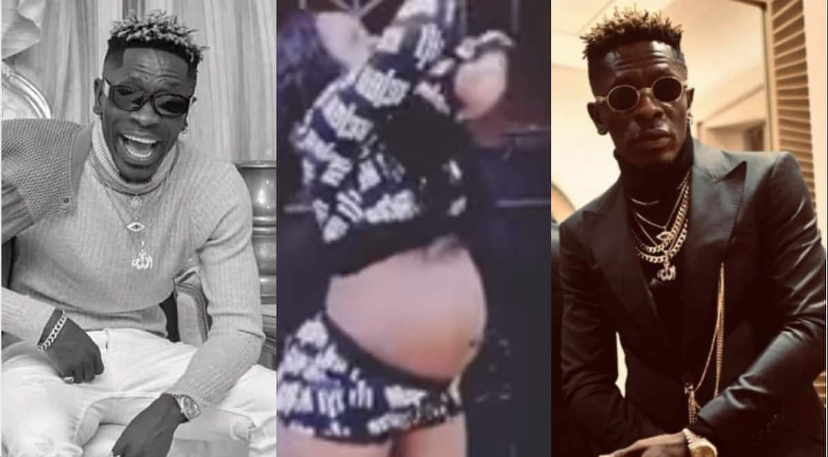 Heavily pregnant lady with 'mighty tundra' twerks to Shatta Wale's dancehall jam in video