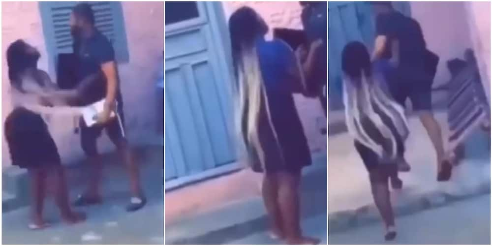 Man takes back TV and decoder he bought for girlfriend after things fell apart between them