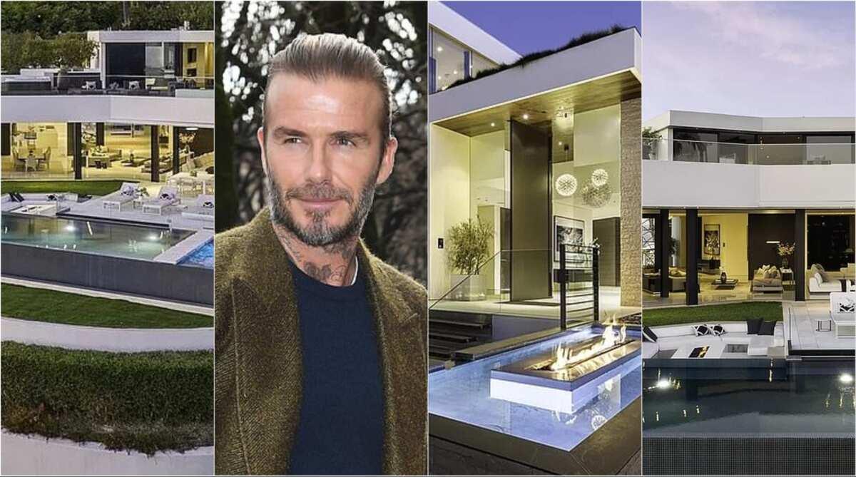 7 powerful photos of David Beckham's expensive mansion with 9 bathrooms pop up - YEN.COM.GH