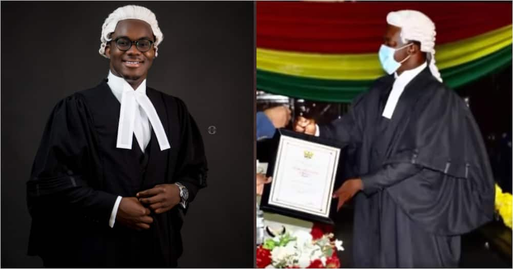 Samuel Adomako is 2021 Overall Best Graduating Student at the Ghana School of Law
