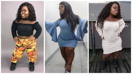 Meet the 21-year-old midget who has taken social media by storm with her wild photos