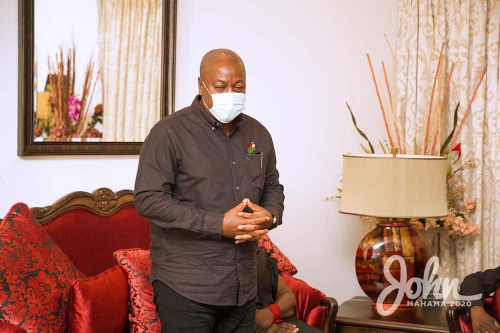 The handwriting and intimate message of Mahama to Jerry Rawlings