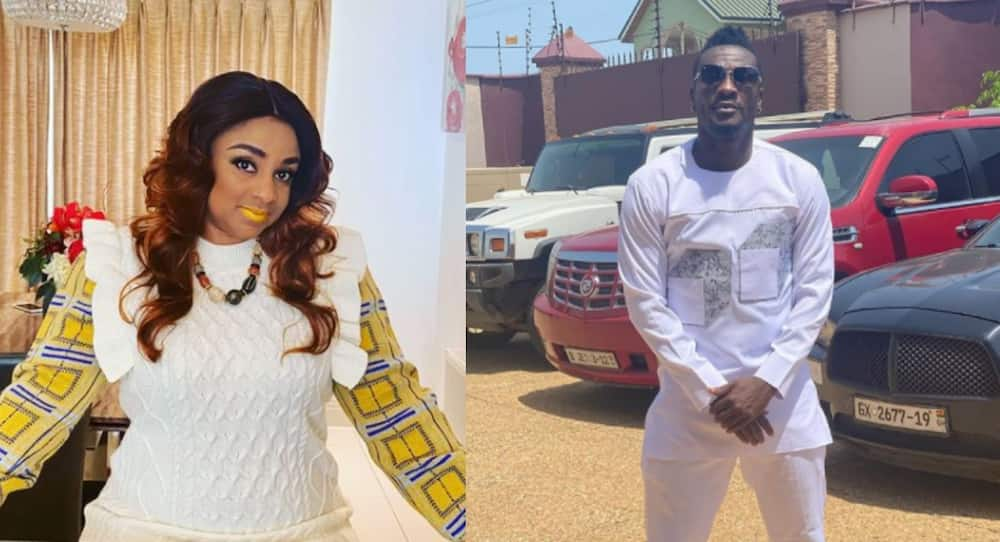 Gifty: Asamoah Gyan's ex-wife glows in fresh photo after leaving the football star