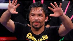 8-division boxing champion who lost to Mayweather finally retires at 42 to run for country's presidency