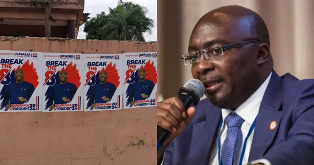 Posters suggesting Bawumia running for president in 2024 pops up in Madina