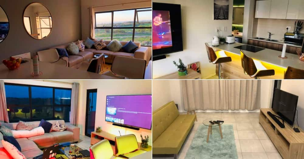 Bachelor pad, Makeover, Transformation, Then and Now