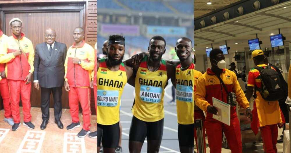 Ghana's Olympic team leave for Japan ahead of Tokyo Olympics