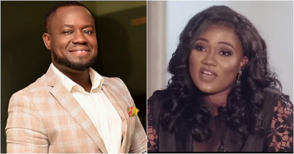 He lied, we had a fling - Abena Korkor exposes TV3's Giovani over claims he did not date her