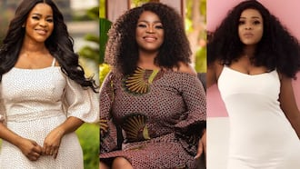 Luckie Lawson celebrates 15th wedding anniversary with husband and 2 kids in new photo; Mercy Johnson, others react
