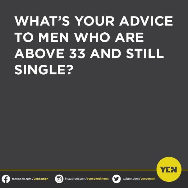 An advice for single men above 33 years