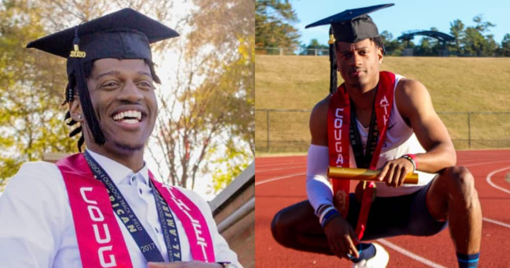 God made me strong because he knew I wouldn't quit - Young man celebrates as he bags 1st degree