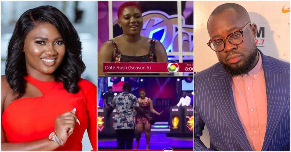 Abena Korkor 'Clashes' With Giovani Caleb On Date Rush After Disgracing Him; Video Drops