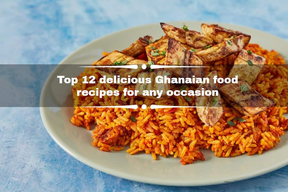 Ghanaian dishes