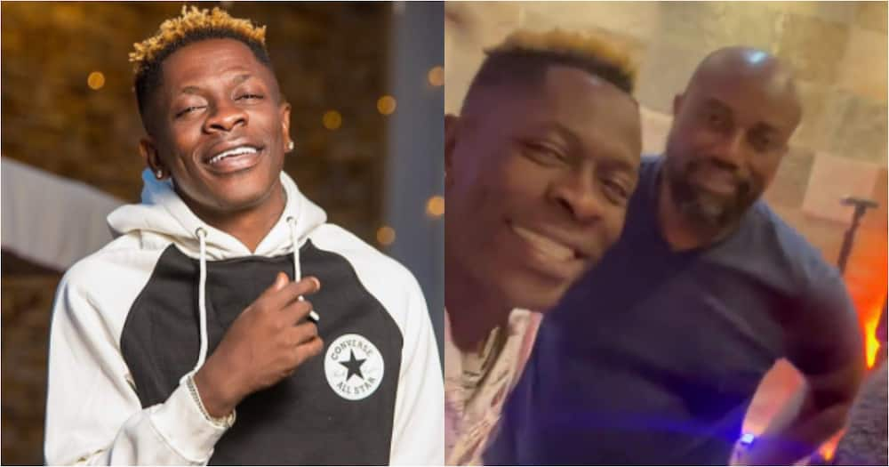 Shatta Wale and millionaire McDan jam to his hit song Thunder Fire ft. SM Militants in video