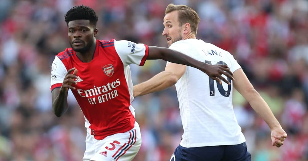 Thomas Partey produces midfield masterclass as Arsenal beat Tottenham in North London derby