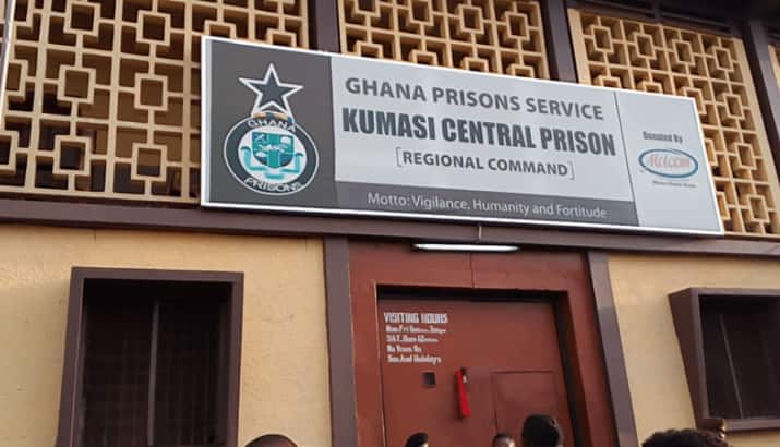 Armed robber on remand reportedly 'vanishes' from Kumasi Prison with 'juju' ring