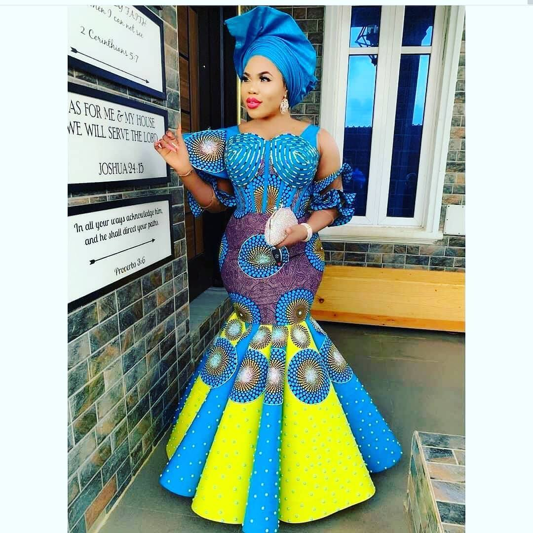 African print styles for ladies 2020 (photos) ▷ YEN.COM.GH