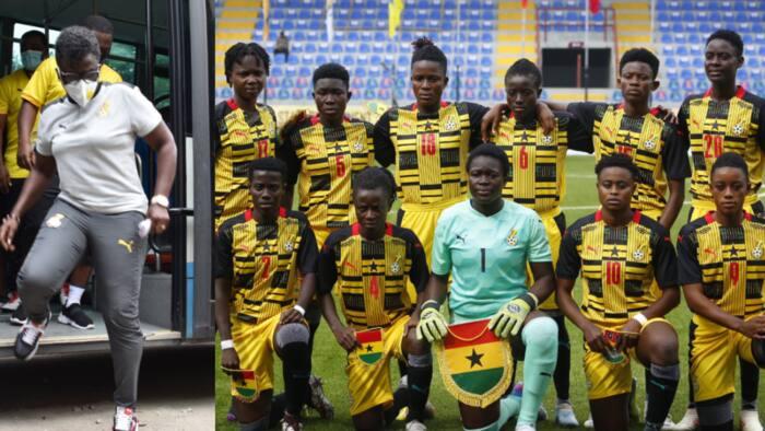 We are joking - Black Queens coach Mercy Tagoe jabs despite victory over Cameroon