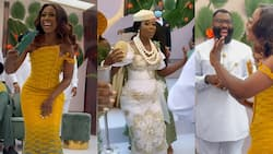 Beautifu videos emerge as TV3 presenter Sika Osei gets married in a colourful traditional wedding