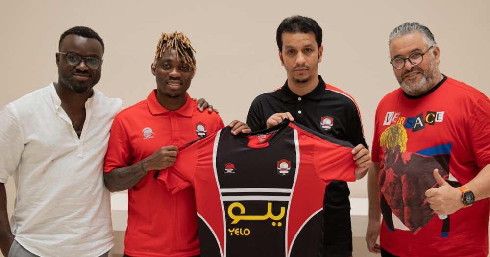 Christian Atsu secures move to Suadi Arabian side Al Raed