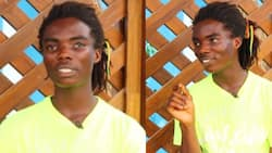 Achimota rasta boy is a 'Maths shark'; details of how he 'finished' topics in SHS Maths book in 1 month pop up (video)