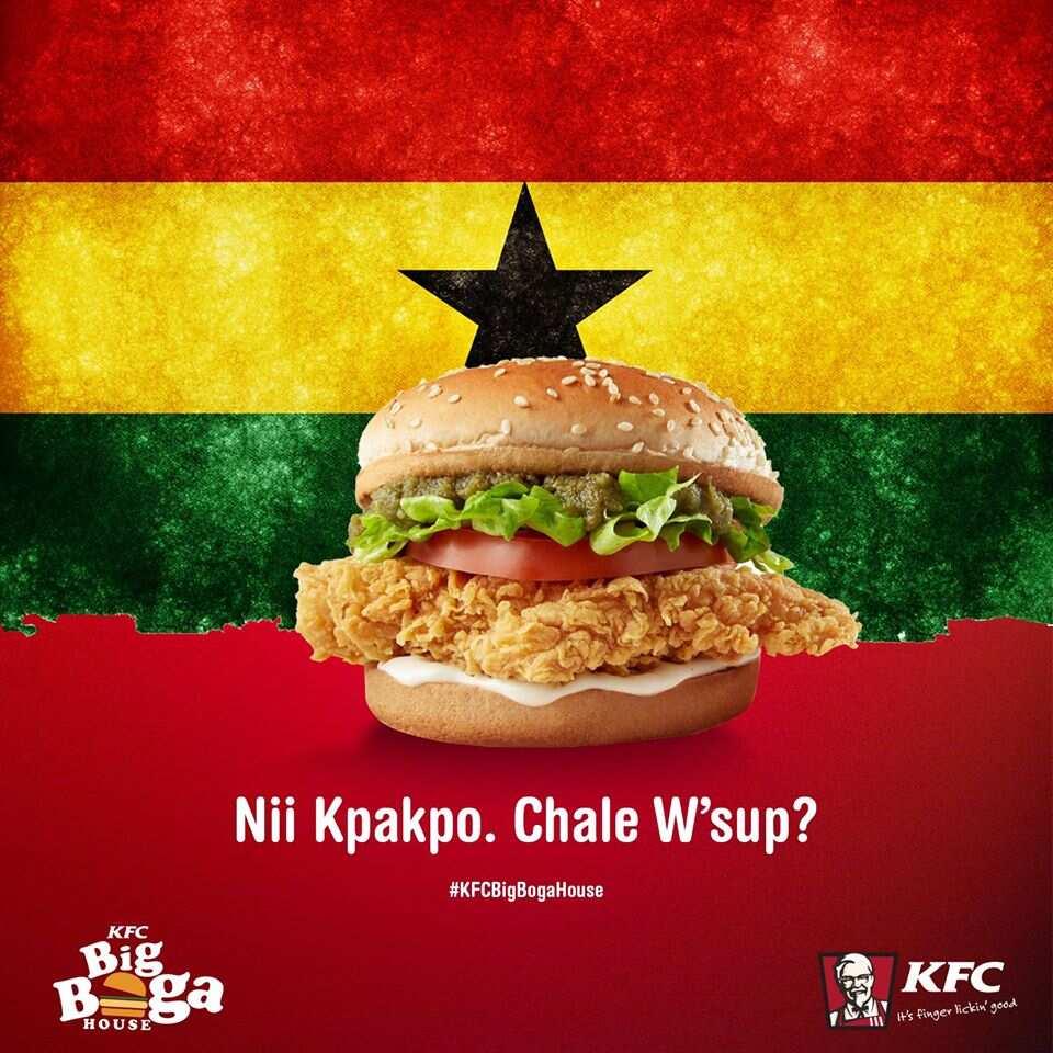 kfc ghana menu