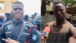 They shot the policeman 3 times - Bold man who rescued bullion van driver in Korle-Bu robbery narrates chilling details (video)