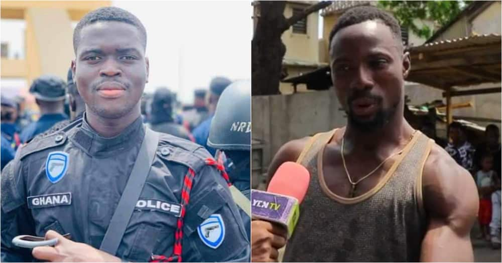Emmanuel Osei and eyewitness to his murder