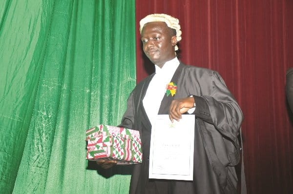 Ghana School of Law fees address