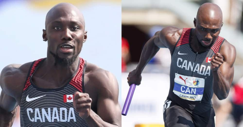 Meet Twi speaking Ghanaian Bismark Boateng who competes for Canada in the 2020 Olympics