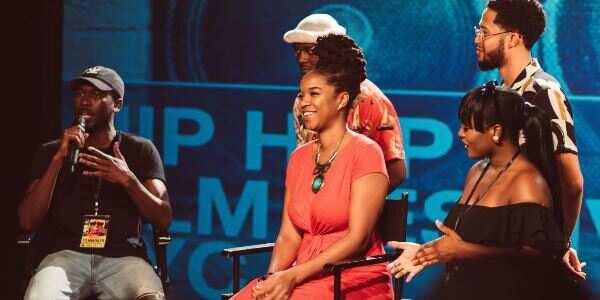 Lovely photos drop as creative Black people team up at Harlem's Hip Hop Film Festival
