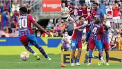 Barcelona's new No.10 Ansu Fati scores just nine minutes into Barcelona return after 10 months out injured