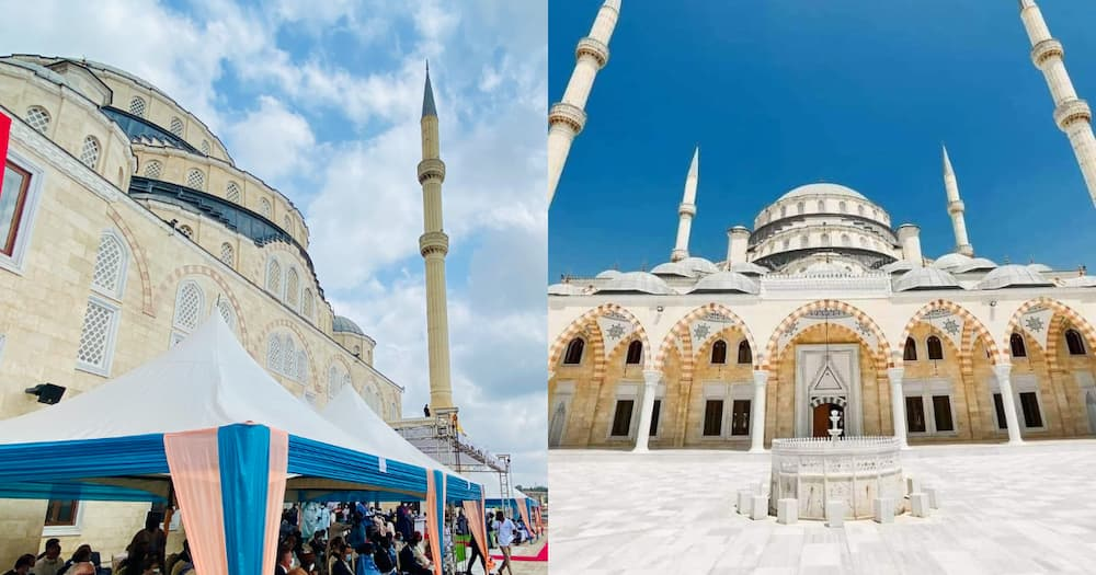 Photos; $10m Ghana National Mosque opened and ready for use by the public