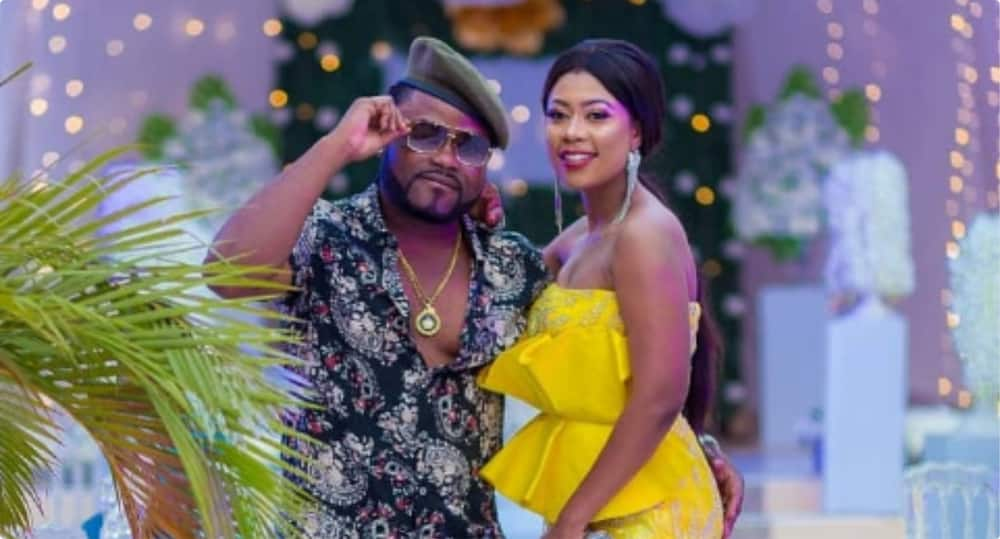 Love conquers all - Praye Tietia reacts after lady called his wife Selly Gally barren and ugly