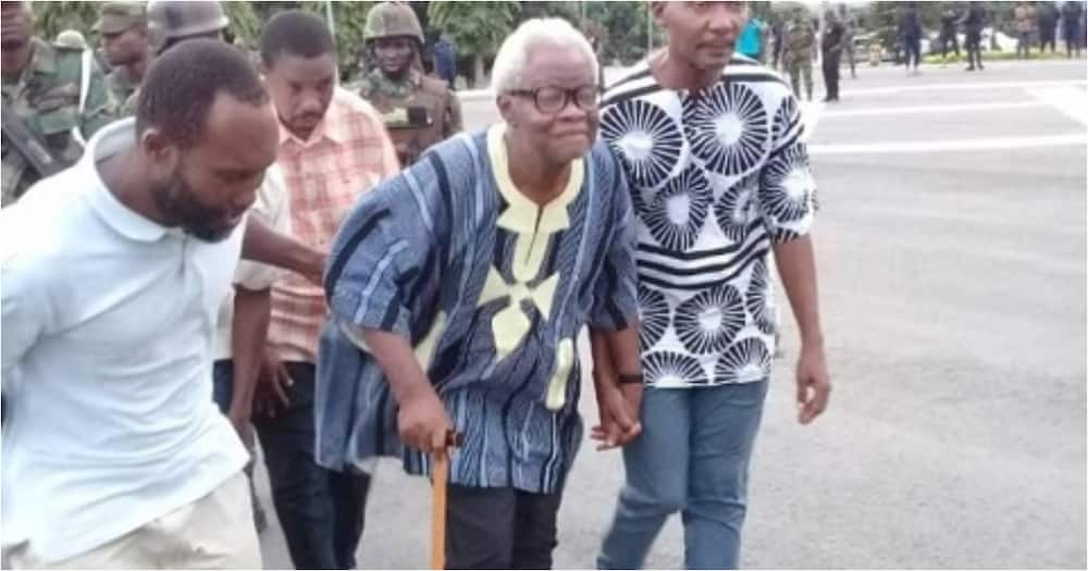 Western Togoland leader Papavi smoked out of hideout in Ho after months of hiding