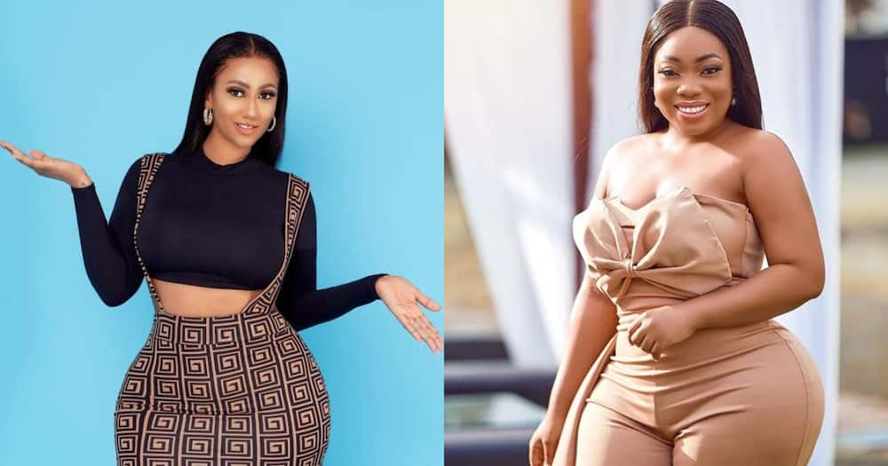 We are not the same - Hajia4Real speaks following Moesha comparison in video