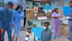 Mahama's son Sharaf donates to the hospital he was born at as he celebrates his 24th birthday; videos drop