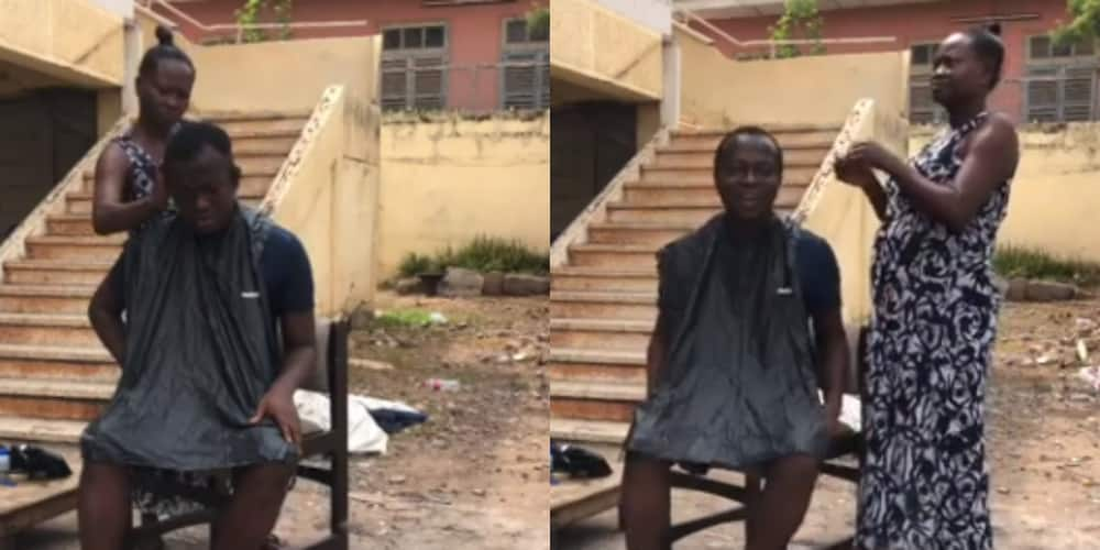 Dora Portuphy: Meet the Ghanaian female barber making the profession attractive (Video)