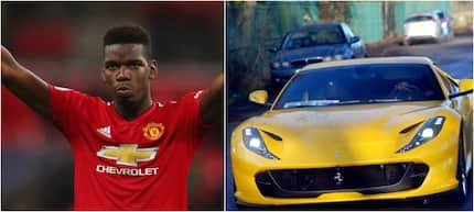 See Pogba's brand new £250,000 yellow Ferrari