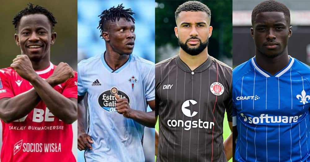 Meet the 4 new players called up to the Black Stars squad ahead of the World Cup qualifiers