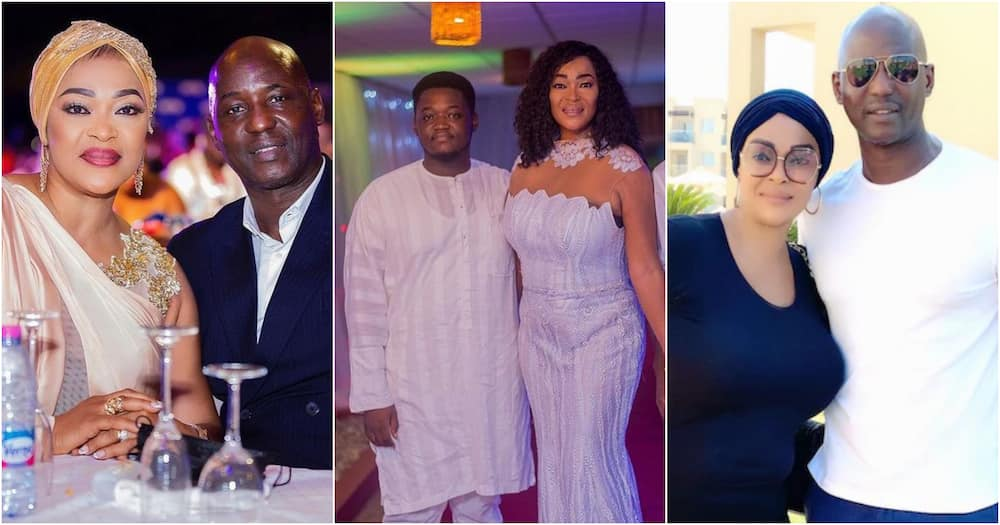 Boukeem: Actress Kalsoume Sinare and Tony Baffoe flaunt their 2nd son as he turns 23