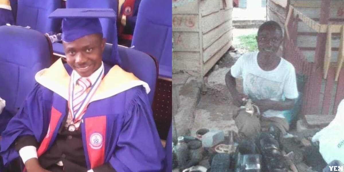 Ismael Bongreat: From a shoemaker to a first Class student at UEW
