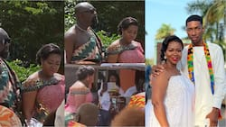 Beautiful video and photos pop up as Kumawood actress Portia Asare Boateng remarries in a traditional wedding