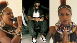 Video of Sherifa Gunu praising Sarkodie for giving her 200 cedis drops after recent accusation