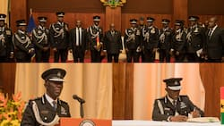 Dampare: Photos drop from swearing-in ceremony of 23rd substantive IGP
